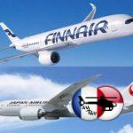 Finnair et Japan Airlines partagent plus